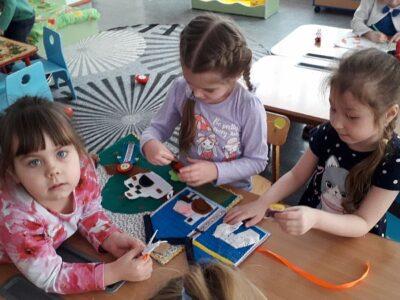 День детской книги в детском саду.